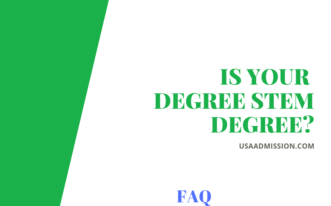 Is my degree is stem degree