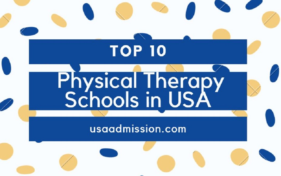 Top 10 Best Physical Therapy Schools in USA