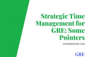 Strategic Time Management for GRE