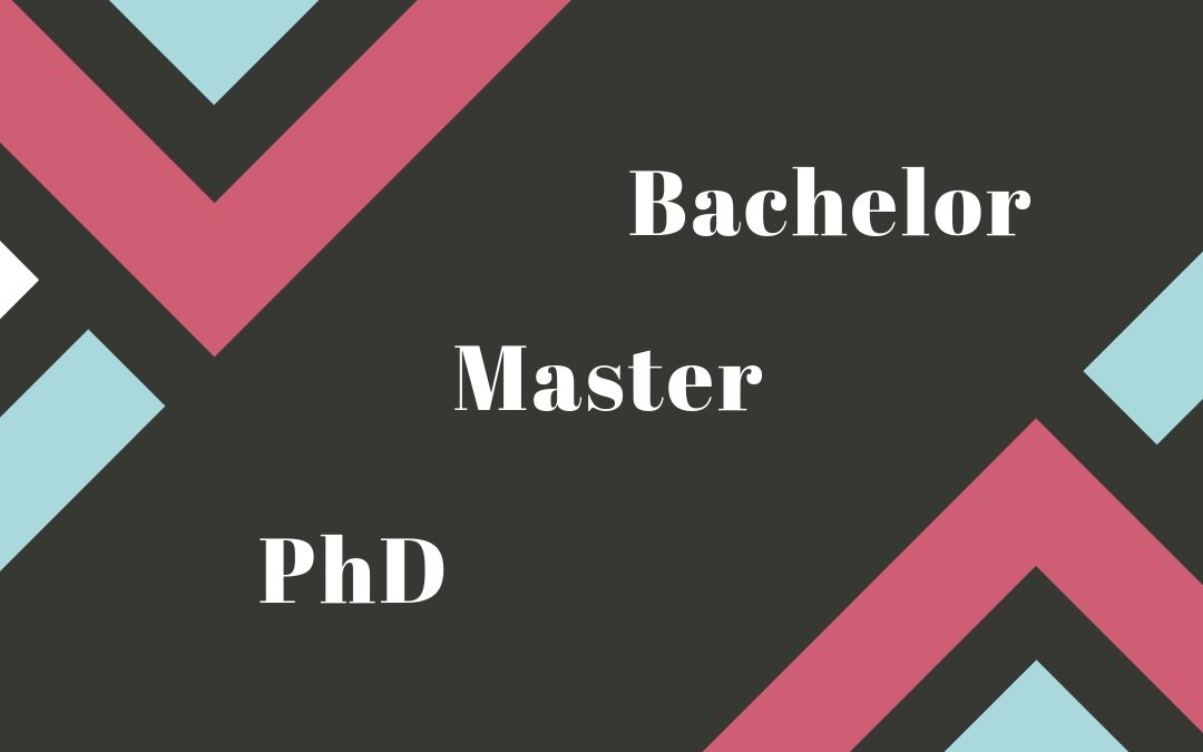 Bachelor Vs Master Vs PhD In US