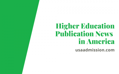 Higher Education Publication News in America